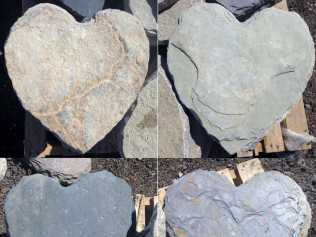 Heart Stepping Flagstone