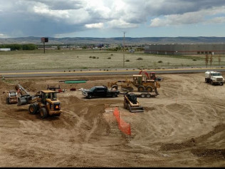 commercial excavation Laramie